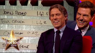 EUROPESE OMROEP | OPENN  | Tom Cruise Finds Out John Bishop Beat His Top Gear Speed | The Graham Norton Show
