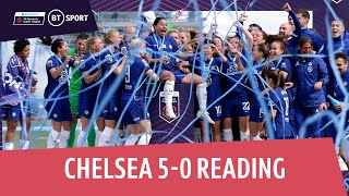 EUROPESE OMROEP | OPENN  | Chelsea vs Reading (5-0) | Chelsea become WSL CHAMPIONS! | WSL Highlights