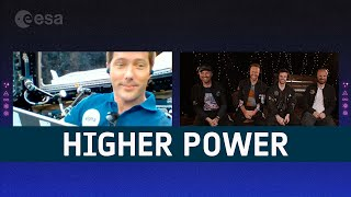EUROPESE OMROEP | OPENN  | Higher Power in space | Thomas Pesquet & Coldplay