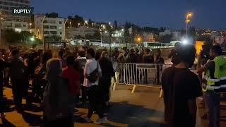 EUROPESE OMROEP | OPENN  | LIVE: Protests against eviction continue in East Jerusalem neighbourhood