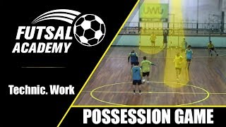 EUROPESE OMROEP | OPENN  | The door's man - 3x3 possession ball game warm up