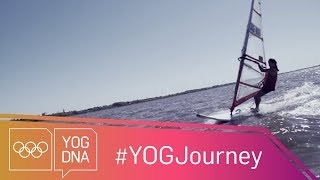 EUROPESE OMROEP | Youth Olympic Games | Windsurfing Training with Celina Saubidet Birkner [ARG] #YOGjourney | 1524060171 2018-04-18T14:02:51+00:00