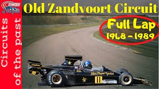 EUROPESE OMROEP | OPENN  | Circuit Zandvoort old Layout 1948 - 1989 (Old Zandvoort Full Lap with Abandoned Sections)