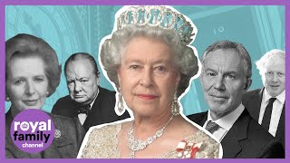 EUROPESE OMROEP OPENN The Queen and her Prime Ministers