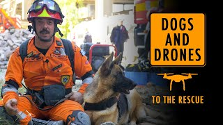 EUROPESE OMROEP OPENN Dogs and drones to the rescue
