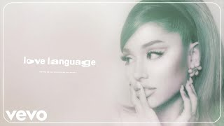 EUROPESE OMROEP | OPENN  | Ariana Grande - love language (Audio)