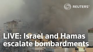 EUROPESE OMROEP | OPENN  | LIVE:  Israel and Hamas escalate bombardments