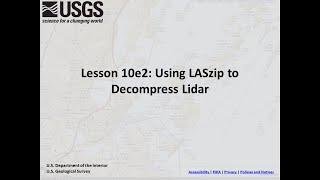 EUROPESE OMROEP OPENN Lesson 10e2: Using LASzip to Deco