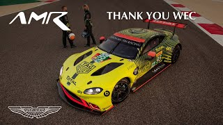 EUROPESE OMROEP | OPENN  | Thank you to the World Endurance Championship | Aston Martin Racing