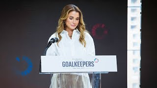 EUROPESE OMROEP | Queen Rania | Bill & Melinda Gates Foundation's Goalkeepers Meeting | 1506011207 2017-09-21T16:26:47+00:00