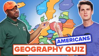 EUROPESE OMROEP OPENN Americans Try To Label A Map of Europe