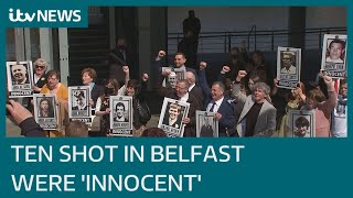 EUROPESE OMROEP | OPENN  | Ballymurphy: Coroner finds victims 'entirely innocent of any wrongdoing' | ITV News