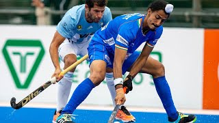 EUROPESE OMROEP | OPENN  | Argentina v India | Match 81 | Men's FIH Hockey Pro League Highlights