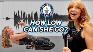 EUROPESE OMROEP | OPENN  | Lowest Vocal Note Reached - Guinness World Records
