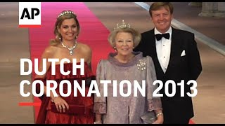 EUROPESE OMROEP | OPENN  | Dutch royals joined by foreign dignitaries for coronation eve dinner