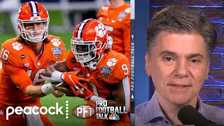 EUROPESE OMROEP | OPENN  | Week in Review: 2021 NFL Draft classes that stand out | Pro Football Talk | NBC Sports