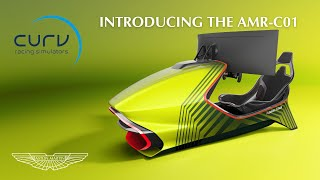 EUROPESE OMROEP | OPENN  | Introducing the AMR-C01 Racing Simulator | Curv Simulators