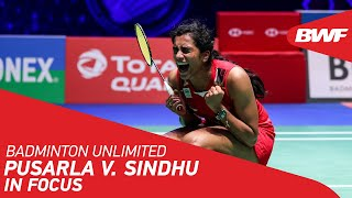 EUROPESE OMROEP | OPENN  | Badminton Unlimited | Sindhu In Focus | BWF 2021