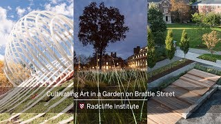 EUROPESE OMROEP | Harvard University | Cultivating Art in a Garden on Brattle Street || Radcliffe Institute | 1523643994 2018-04-13T18:26:34+00:00