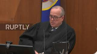 EUROPESE OMROEP OPENN USA: Chauvin trial judge says Rep. Max