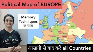 EUROPESE OMROEP OPENN World Map: EUROPE Political Map -