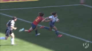 EUROPESE OMROEP | World Rugby | Fanny Horta scores to help France into first ever world series final! | 1524380328 2018-04-22T06:58:48+00:00