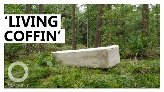 EUROPESE OMROEP OPENN This 'Living Coffin' Composts