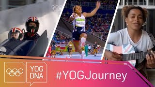 EUROPESE OMROEP | Youth Olympic Games | Jazmin Sawyers [GBR] - the multi-talented athlete #YOGjourney | 1512669604 2017-12-07T18:00:04+00:00