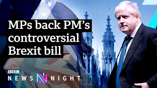 EUROPESE OMROEP | OPENN  | Brexit: Internal Market Bill clears first hurdle in Commons - BBC Newsnight
