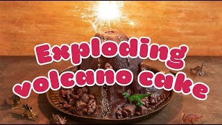 EUROPESE OMROEP | BBC Good Food | How to make an EXPLODING volcano cake 🌋 - BBC Good Food Kids | 1521212485 2018-03-16T15:01:25+00:00