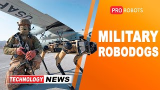 EUROPESE OMROEP | OPENN  | New military robots and augmented reality glasses for the U.S. Army | Joyce is Sophia's robot sister