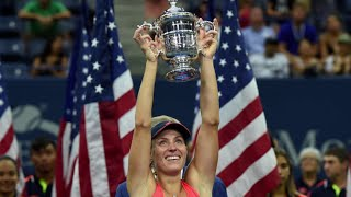 EUROPESE OMROEP | US Open Tennis Championships | US Open Tennis 50 in 50: Angelique Kerber Tops Karolina Pliskova for the 2016 Title | 1520867509 2018-03-12T15:11:49+00:00