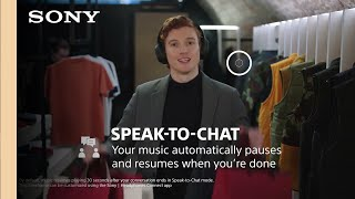 EUROPESE OMROEP | OPENN  | Sony | WH-1000XM4 Industry Leading Noise Canceling Headphones with Speak to Chat