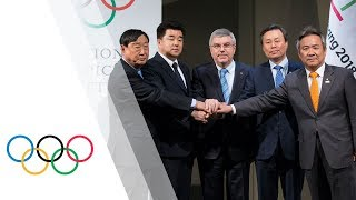 EUROPESE OMROEP | IOC Media | North and South Korean Olympic Participation Meeting | 1516451226 2018-01-20T12:27:06+00:00