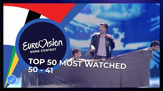 EUROPESE OMROEP OPENN TOP 50: Most watched in 2020: 50