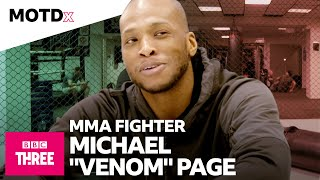 EUROPESE OMROEP | OPENN  | Michael 'Venom' Page On His Love For MMA And Man Utd l MOTDx