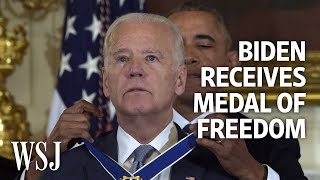EUROPESE OMROEP | OPENN  | President Obama Surprises Joe Biden With Medal of Freedom