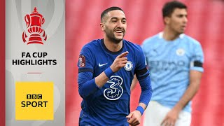 EUROPESE OMROEP | OPENN  | FA Cup highlights: Ziyech on target as Chelsea end Man City quadruple hopes | BBC Sport