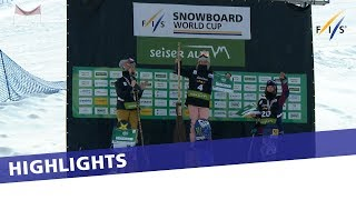 EUROPESE OMROEP | FIS Snowboarding | Sofya Fedorova earns career's first and takes home Slopestyle World Cup title | Highlights | 1521193448 2018-03-16T09:44:08+00:00