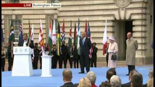 EUROPESE OMROEP | MyDigitalRealm | HM The Queen Launches Commonwealth Games 2014 Baton Relay - October 2013 | 1381318880 2013-10-09T11:41:20+00:00