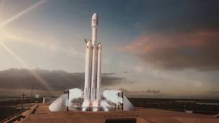 EUROPESE OMROEP | SpaceX | Falcon Heavy Animation | 1517860641 2018-02-05T19:57:21+00:00