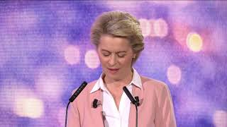 EUROPESE OMROEP | OPENN  | President von der Leyen speaks at the Conference on the Future of Europe on Europe Day in Strasbourg