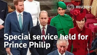 EUROPESE OMROEP OPENN Special service held for Prince P