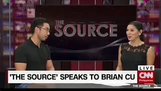 EUROPESE OMROEP | CNN Philippines | The Source speaks to Brian Cu | 1524639047 2018-04-25T06:50:47+00:00