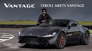 EUROPESE OMROEP | OPENN  | Lance Stroll drives the Aston Martin Vantage at Silverstone | Aston Martin F1