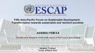 EUROPESE OMROEP | United Nations ESCAP | APFSD (Day 3) - AGENDA ITEM 5-6 | 1522402743 2018-03-30T09:39:03+00:00