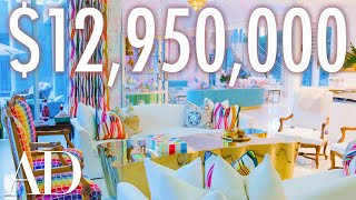 EUROPESE OMROEP | OPENN  | Inside A Multicolor $13M Maximalist Mansion | On The Market | Architectural Digest