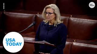 EUROPESE OMROEP | OPENN  | Rep. Liz Cheney gives passionate speech on House floor regarding Trump's influence | USA TODAY