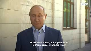 EUROPESE OMROEP | OPENN  | Russia: Putin says test for COVID antibodies positive after vaccination