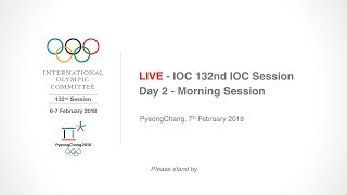 EUROPESE OMROEP | IOC Media | IOC 132nd IOC Session – Day 2 - Morning Session | 1517979052 2018-02-07T04:50:52+00:00